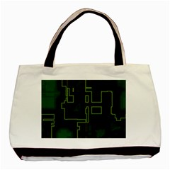 A Completely Seamless Background Design Circuit Board Basic Tote Bag