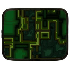 A Completely Seamless Background Design Circuit Board Netbook Case (xl)