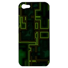 A Completely Seamless Background Design Circuit Board Apple Iphone 5 Hardshell Case