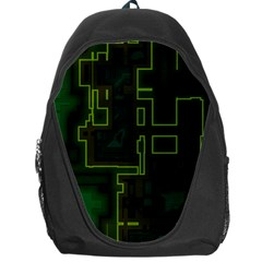 A Completely Seamless Background Design Circuit Board Backpack Bag
