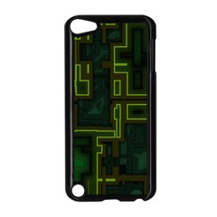 A Completely Seamless Background Design Circuit Board Apple iPod Touch 5 Case (Black)