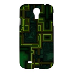 A Completely Seamless Background Design Circuit Board Samsung Galaxy S4 I9500/I9505 Hardshell Case