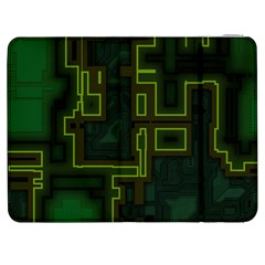A Completely Seamless Background Design Circuit Board Samsung Galaxy Tab 7  P1000 Flip Case