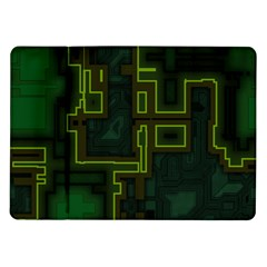 A Completely Seamless Background Design Circuit Board Samsung Galaxy Tab 10.1  P7500 Flip Case