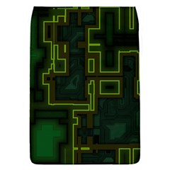 A Completely Seamless Background Design Circuit Board Flap Covers (L)