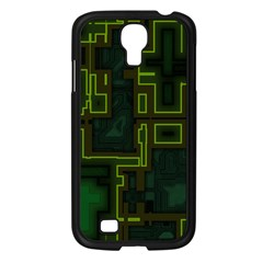 A Completely Seamless Background Design Circuit Board Samsung Galaxy S4 I9500/ I9505 Case (Black)