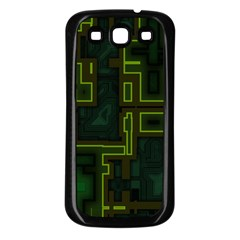A Completely Seamless Background Design Circuit Board Samsung Galaxy S3 Back Case (Black)