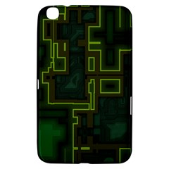 A Completely Seamless Background Design Circuit Board Samsung Galaxy Tab 3 (8 ) T3100 Hardshell Case