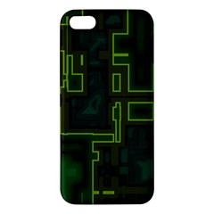 A Completely Seamless Background Design Circuit Board Iphone 5s/ Se Premium Hardshell Case