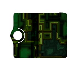 A Completely Seamless Background Design Circuit Board Kindle Fire HDX 8.9  Flip 360 Case