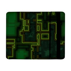 A Completely Seamless Background Design Circuit Board Samsung Galaxy Tab Pro 8.4  Flip Case