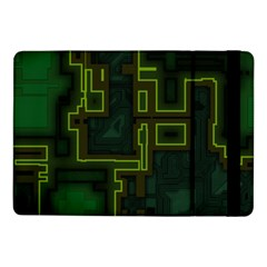 A Completely Seamless Background Design Circuit Board Samsung Galaxy Tab Pro 10.1  Flip Case