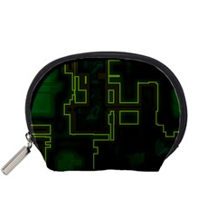 A Completely Seamless Background Design Circuit Board Accessory Pouches (small)