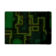 A Completely Seamless Background Design Circuit Board iPad Mini 2 Flip Cases