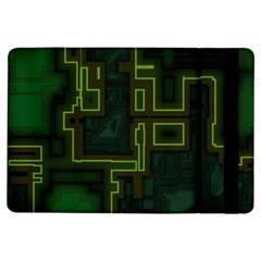 A Completely Seamless Background Design Circuit Board iPad Air Flip