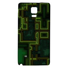 A Completely Seamless Background Design Circuit Board Galaxy Note 4 Back Case