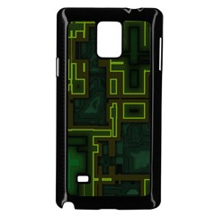 A Completely Seamless Background Design Circuit Board Samsung Galaxy Note 4 Case (Black)