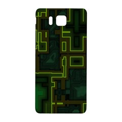 A Completely Seamless Background Design Circuit Board Samsung Galaxy Alpha Hardshell Back Case