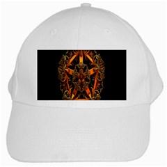 3d Fractal Jewel Gold Images White Cap