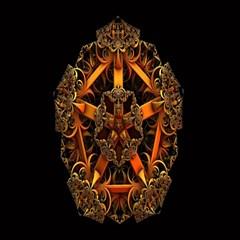 3d Fractal Jewel Gold Images Magic Photo Cubes