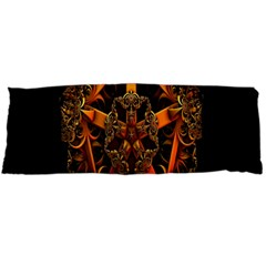 3d Fractal Jewel Gold Images Body Pillow Case (Dakimakura)