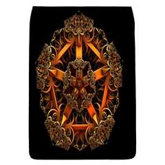 3d Fractal Jewel Gold Images Flap Covers (S)