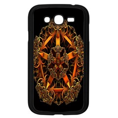 3d Fractal Jewel Gold Images Samsung Galaxy Grand DUOS I9082 Case (Black)