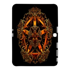 3d Fractal Jewel Gold Images Samsung Galaxy Tab 4 (10 1 ) Hardshell Case