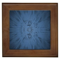 Zoom Digital Background Framed Tiles