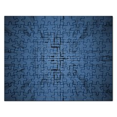 Zoom Digital Background Rectangular Jigsaw Puzzl