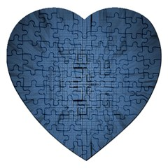 Zoom Digital Background Jigsaw Puzzle (Heart)