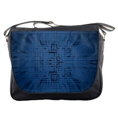 Zoom Digital Background Messenger Bags