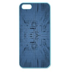 Zoom Digital Background Apple Seamless Iphone 5 Case (color)