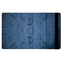 Zoom Digital Background Apple iPad 2 Flip Case