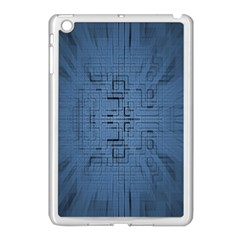 Zoom Digital Background Apple iPad Mini Case (White)