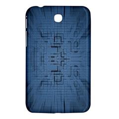 Zoom Digital Background Samsung Galaxy Tab 3 (7 ) P3200 Hardshell Case