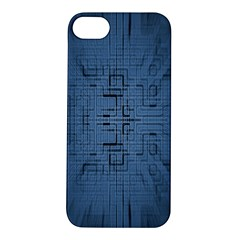 Zoom Digital Background Apple iPhone 5S/ SE Hardshell Case