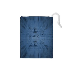 Zoom Digital Background Drawstring Pouches (Small)