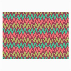 Abstract Seamless Abstract Background Pattern Large Glasses Cloth (2 Side)
