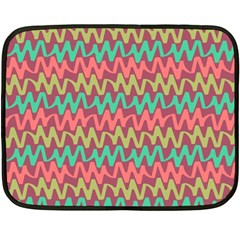 Abstract Seamless Abstract Background Pattern Fleece Blanket (Mini)