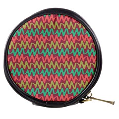 Abstract Seamless Abstract Background Pattern Mini Makeup Bags