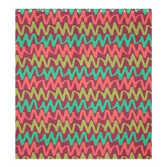 Abstract Seamless Abstract Background Pattern Shower Curtain 66  X 72  (large)