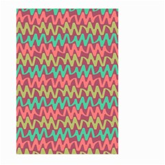Abstract Seamless Abstract Background Pattern Large Garden Flag (Two Sides)