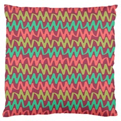 Abstract Seamless Abstract Background Pattern Large Cushion Case (One Side)