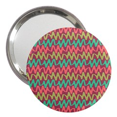 Abstract Seamless Abstract Background Pattern 3  Handbag Mirrors