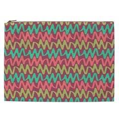 Abstract Seamless Abstract Background Pattern Cosmetic Bag (xxl)