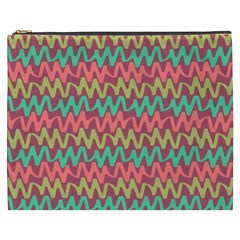 Abstract Seamless Abstract Background Pattern Cosmetic Bag (XXXL)