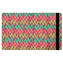 Abstract Seamless Abstract Background Pattern Apple iPad 2 Flip Case