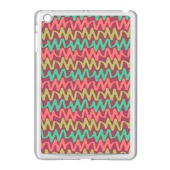Abstract Seamless Abstract Background Pattern Apple iPad Mini Case (White)
