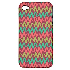 Abstract Seamless Abstract Background Pattern Apple Iphone 4/4s Hardshell Case (pc+silicone)